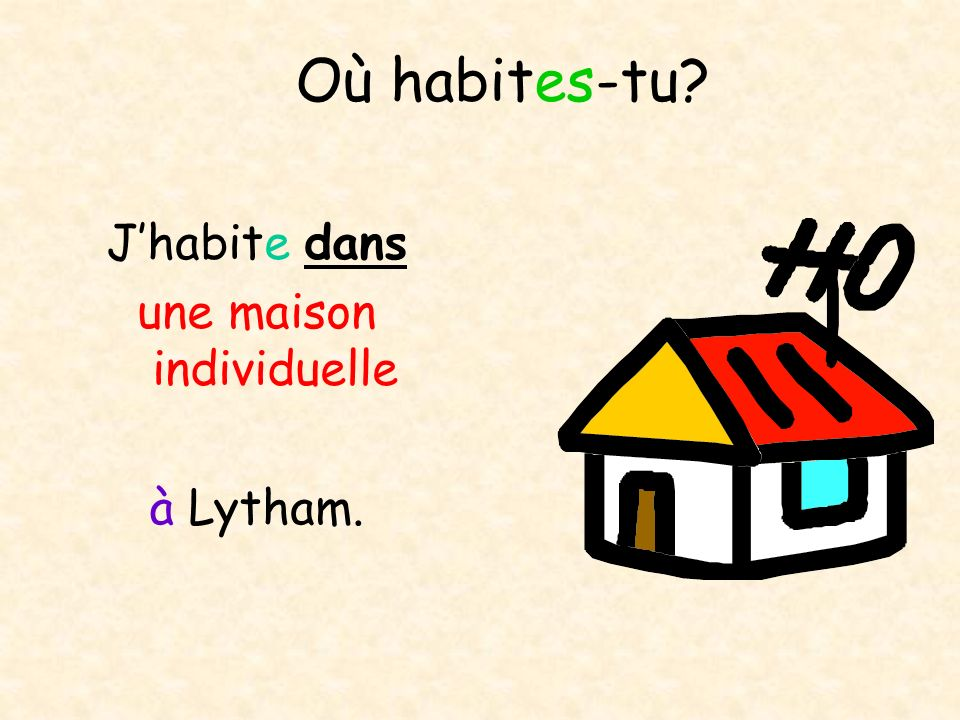 une maison individuelle