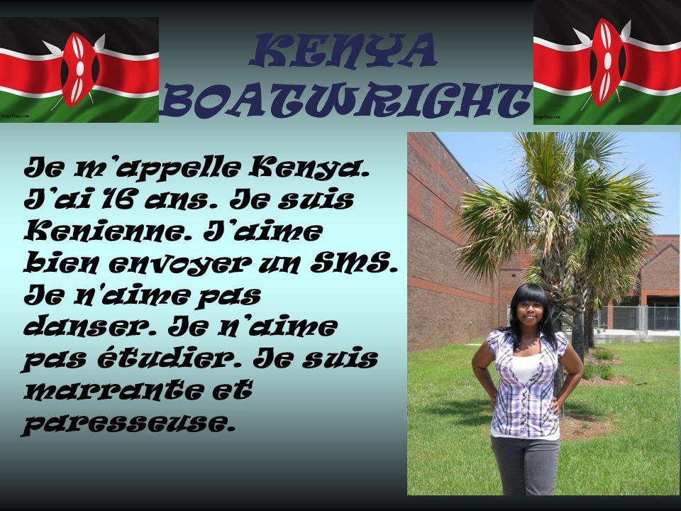 KENYA BOATWRIGHT