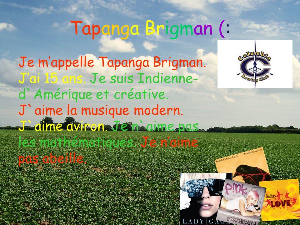 Tapanga Brigman (: