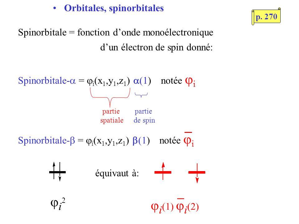Spinorbitale-b = ji(x1,y1,z1) b(1) notée ji