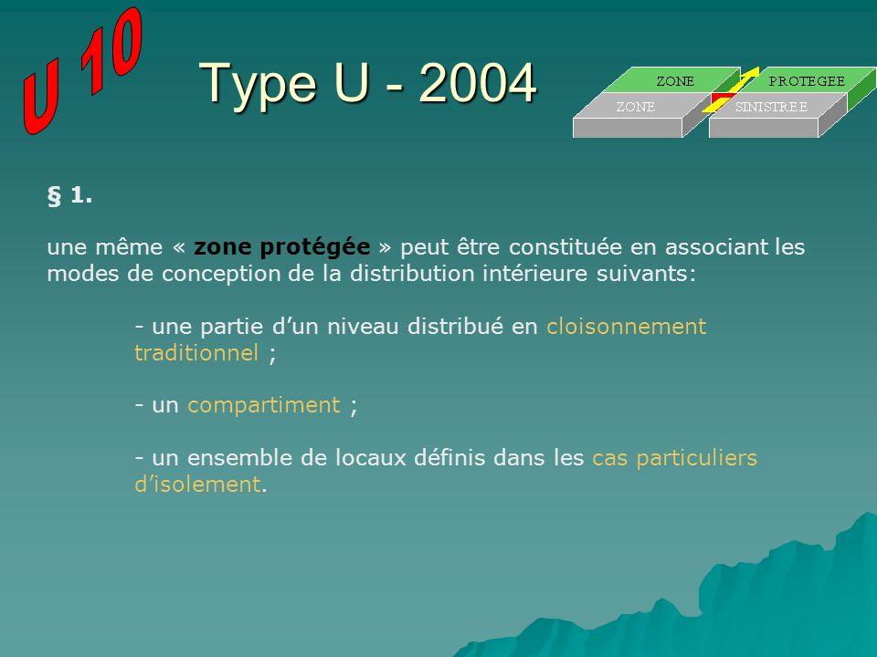 U 10 Type U - 2004. § 1.