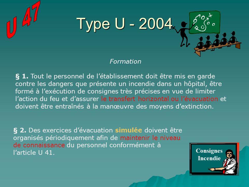 U 47 Type U - 2004. Formation.
