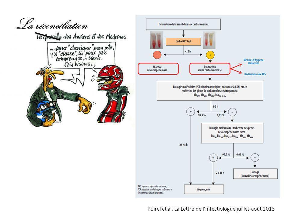 La réconciliation Poirel et al. La Lettre de l'Infectiologue juillet-août 2013