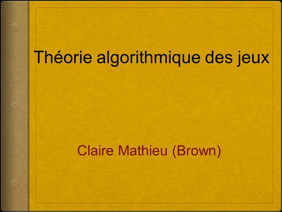 Théorie algorithmique des jeux