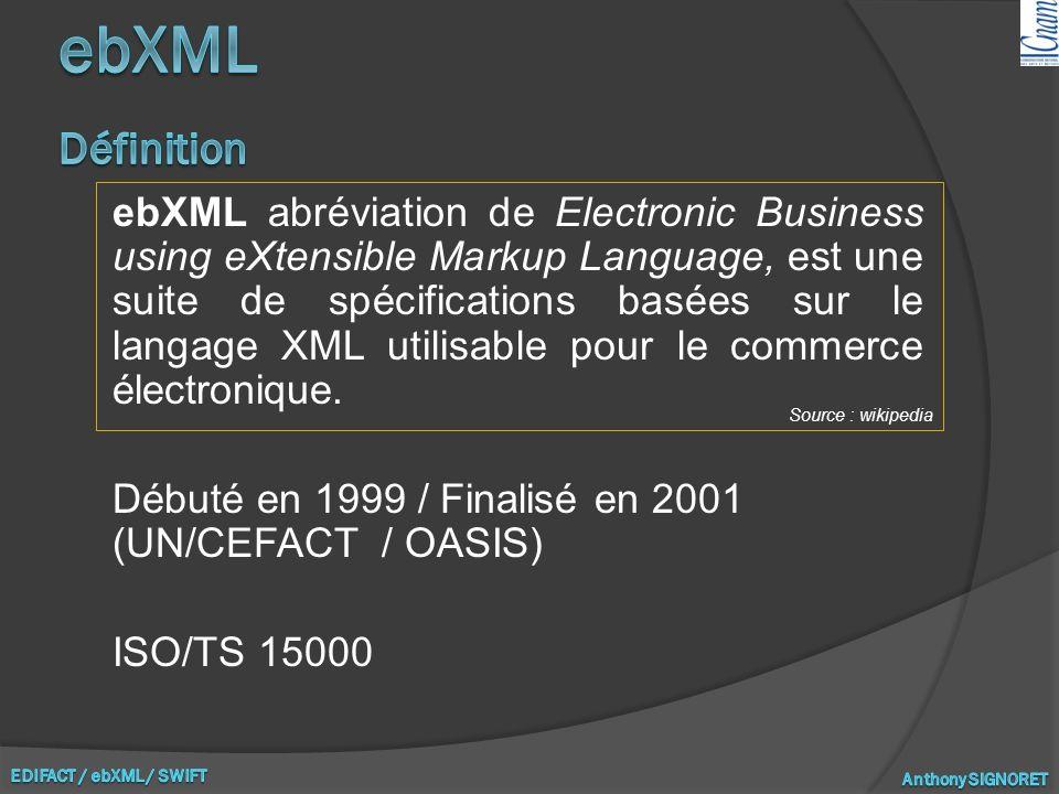 ebXML Définition