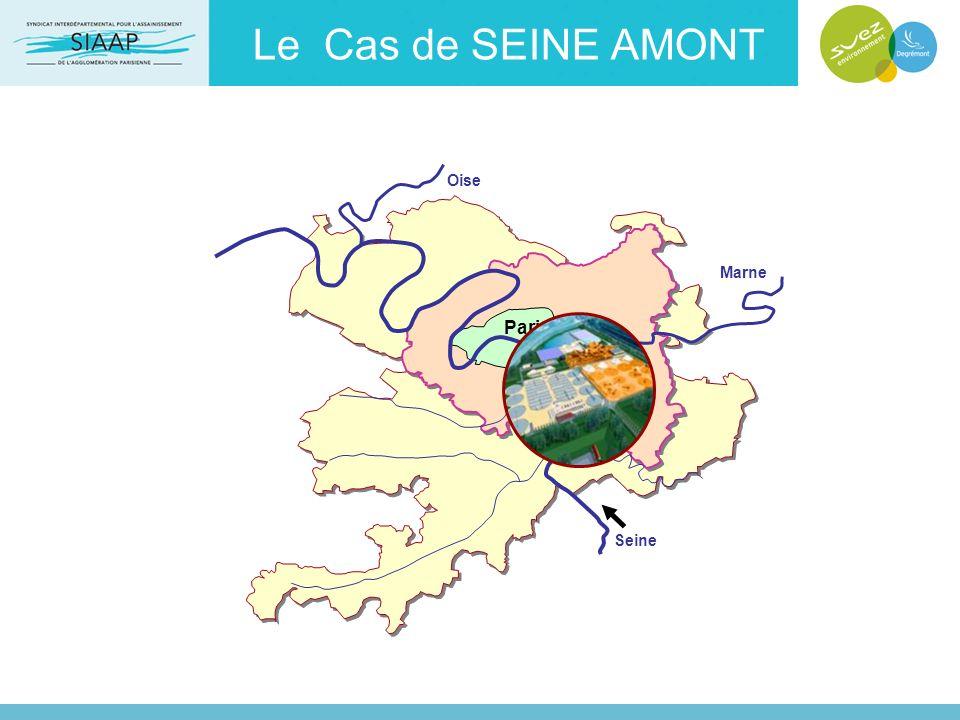 Le Cas de SEINE AMONT Paris Seine Marne Oise