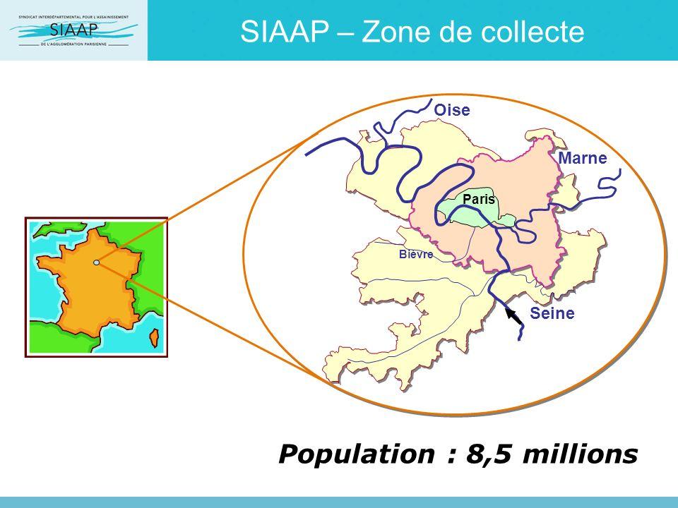 SIAAP – Zone de collecte