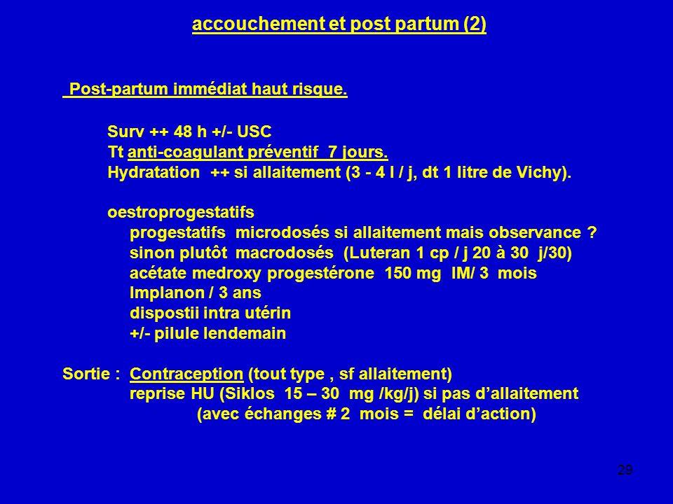 accouchement et post partum (2)