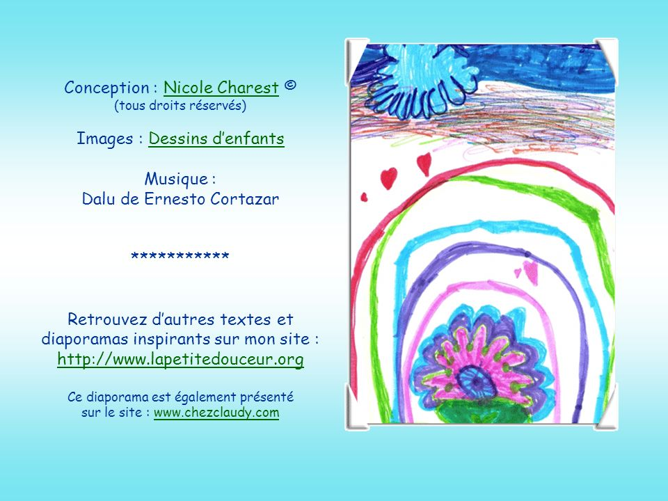 Conception : Nicole Charest © (tous droits réservés)