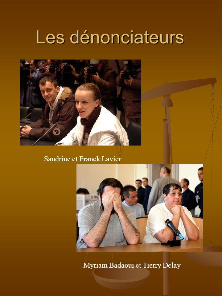 Les dénonciateurs Sandrine et Franck Lavier