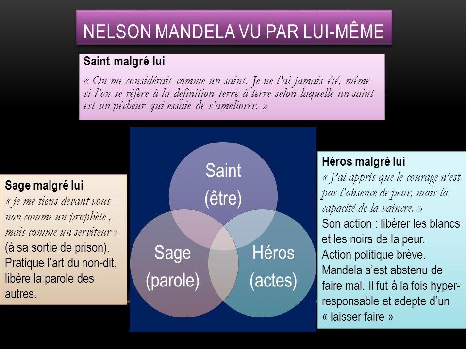 NELSON MANDELA VU PAR LUI-MÊME