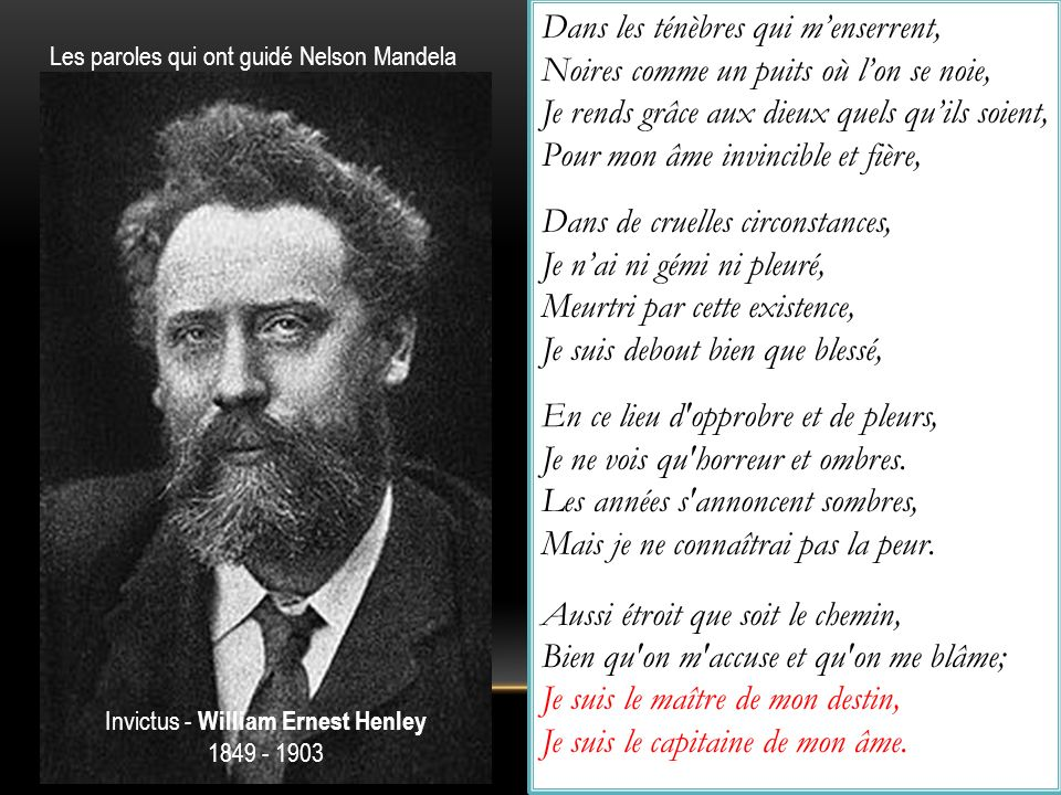 Invictus - William Ernest Henley