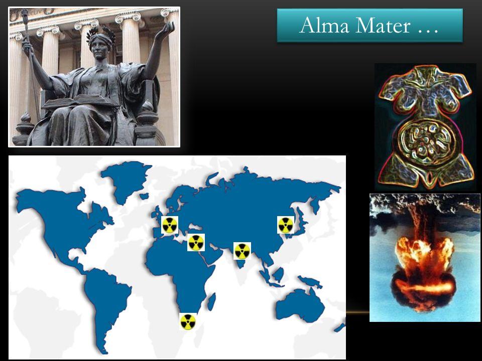 Alma Mater … Deux nations sont en ton sein …