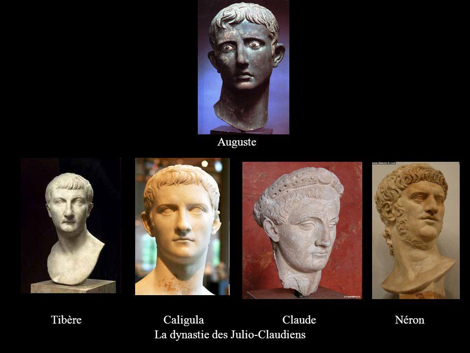 Tibère Caligula Claude Néron La dynastie des Julio-Claudiens