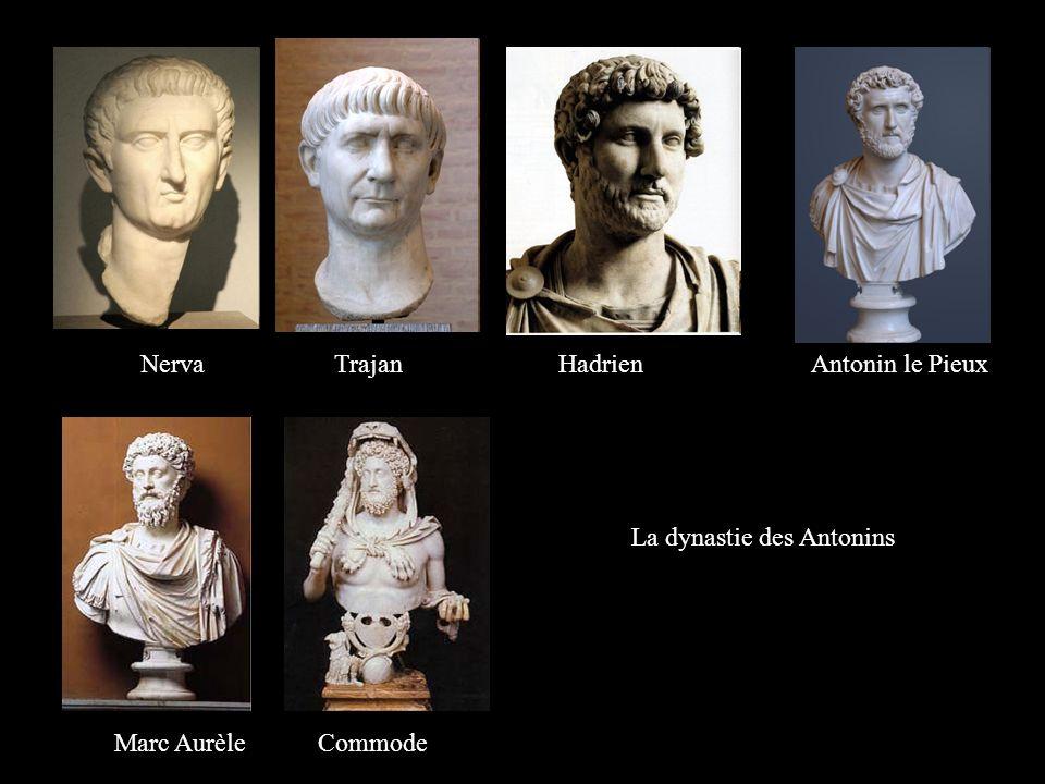 Nerva Trajan Hadrien Antonin le Pieux