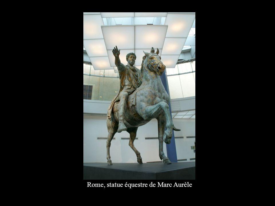Rome, statue équestre de Marc Aurèle