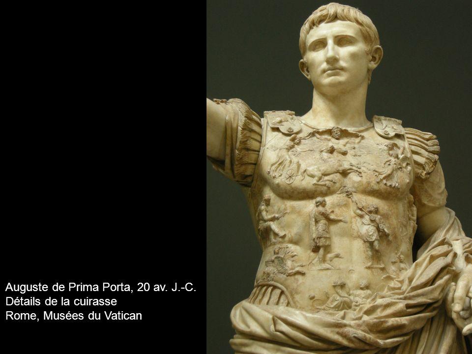 Auguste de Prima Porta, 20 av. J.-C.