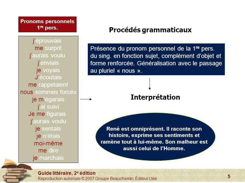 Procédés grammaticaux