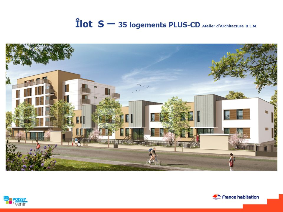 Îlot S – 35 logements PLUS-CD Atelier d'Architecture B.L.M