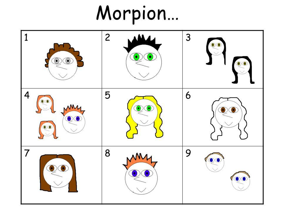 Morpion… 1 2 3 4 5 6 7 8 9