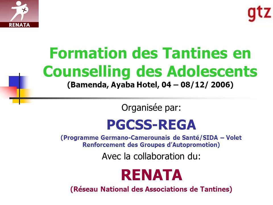 (Réseau National des Associations de Tantines)