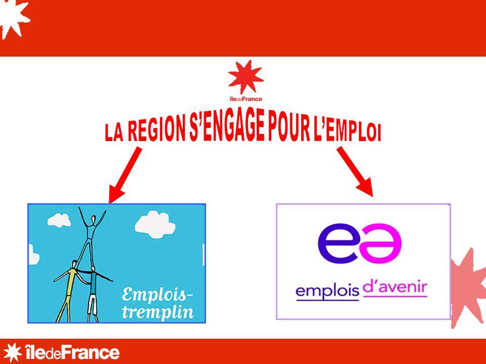 LA REGION S'ENGAGE POUR L'EMPLOI