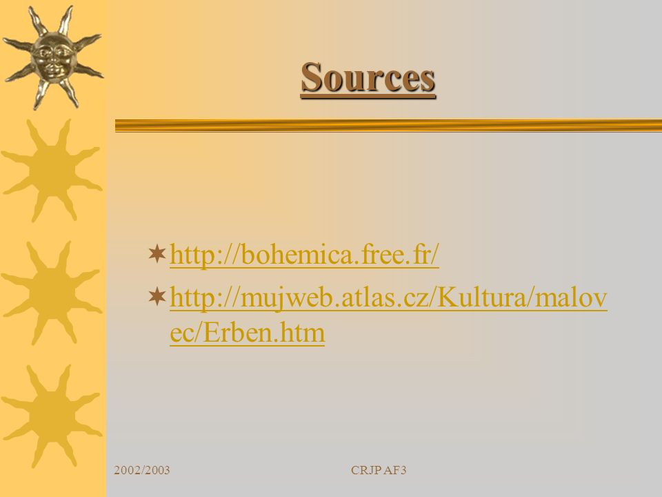 Sources http://bohemica.free.fr/