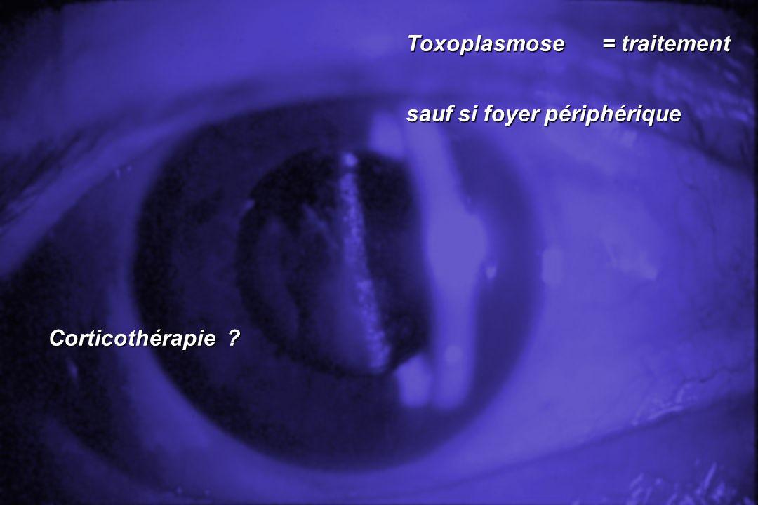 Toxoplasmose = traitement