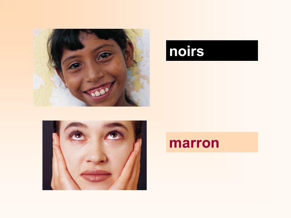 noirs marron