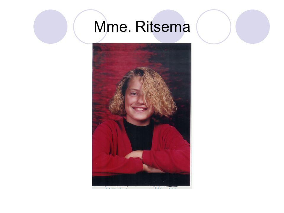 Mme. Ritsema