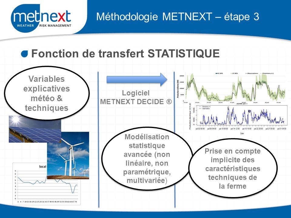 Méthodologie METNEXT – étape 3