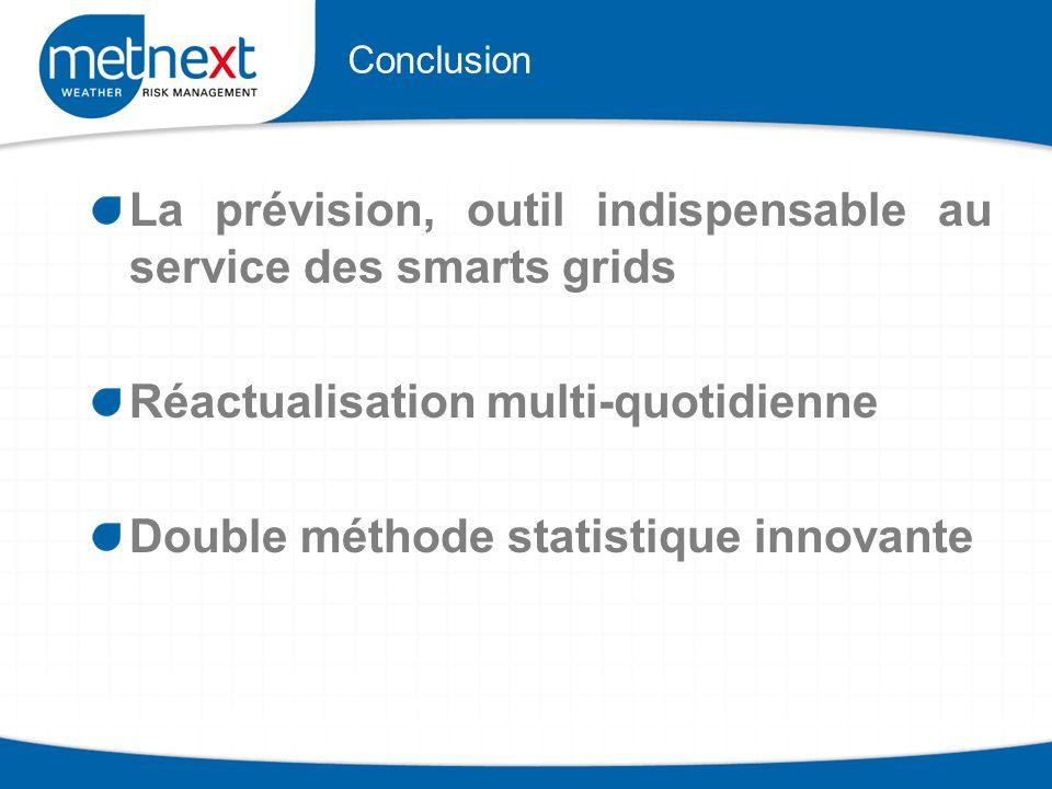 La prévision, outil indispensable au service des smarts grids