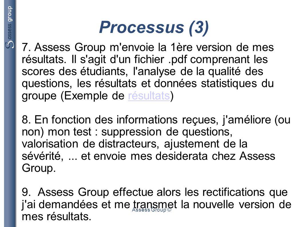 Processus (3)