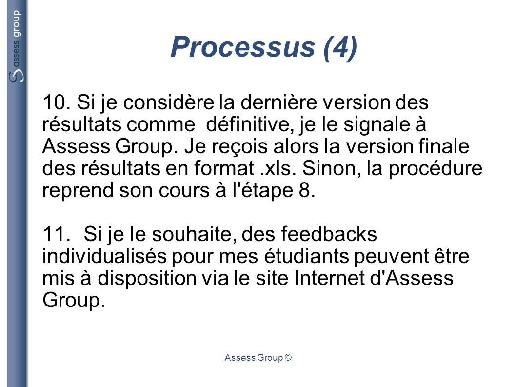 Processus (4)