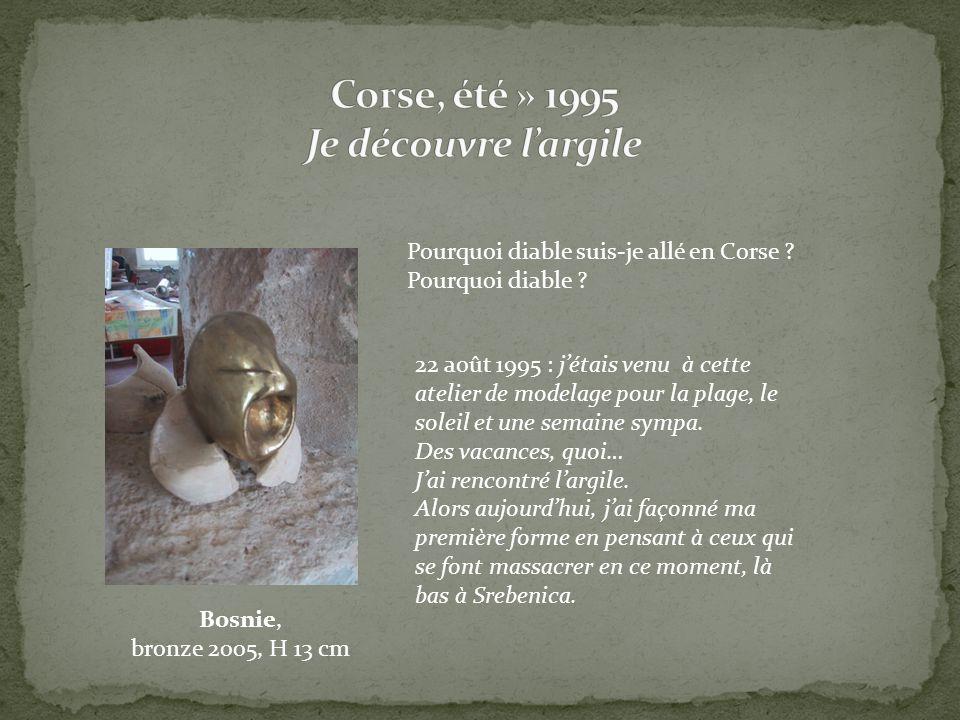 Corse, été » 1995 Je découvre l'argile