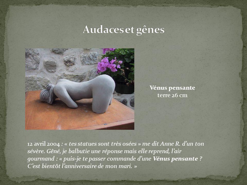 Audaces et gênes Vénus pensante terre 26 cm