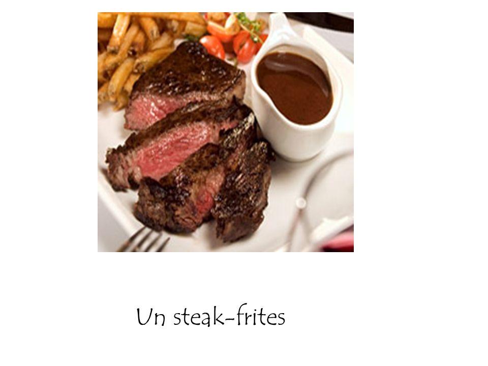 Un steak-frites