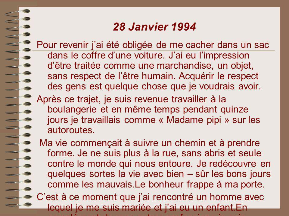 28 Janvier 1994