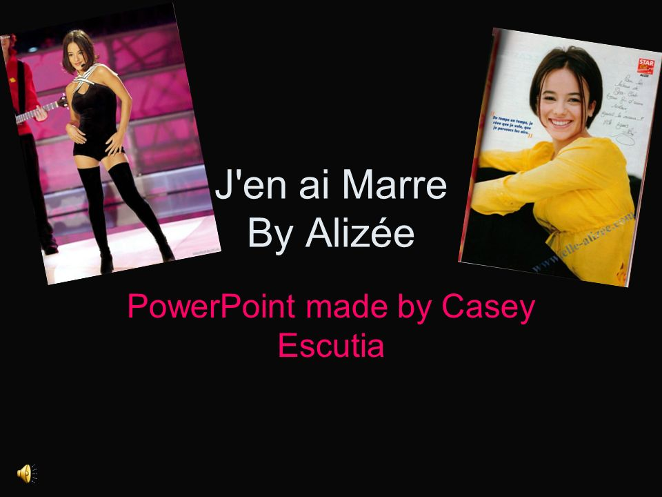 PowerPoint made by Casey Escutia