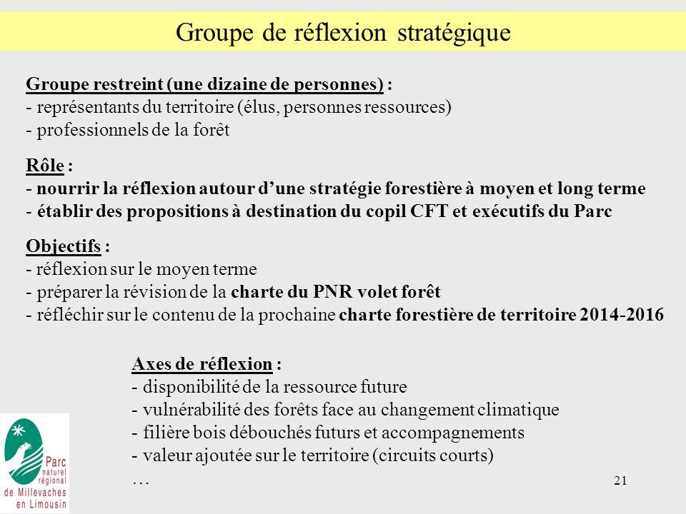 Groupe de réflexion stratégique