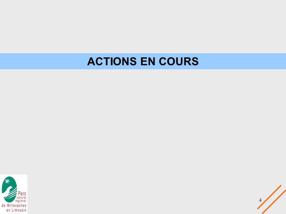 ACTIONS EN COURS