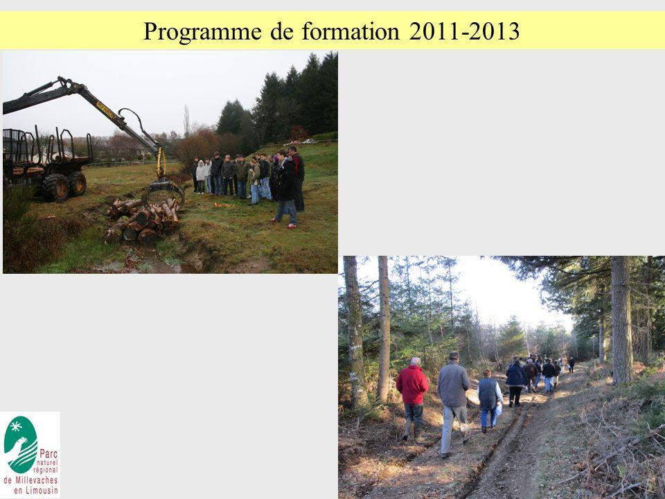 Programme de formation 2011-2013