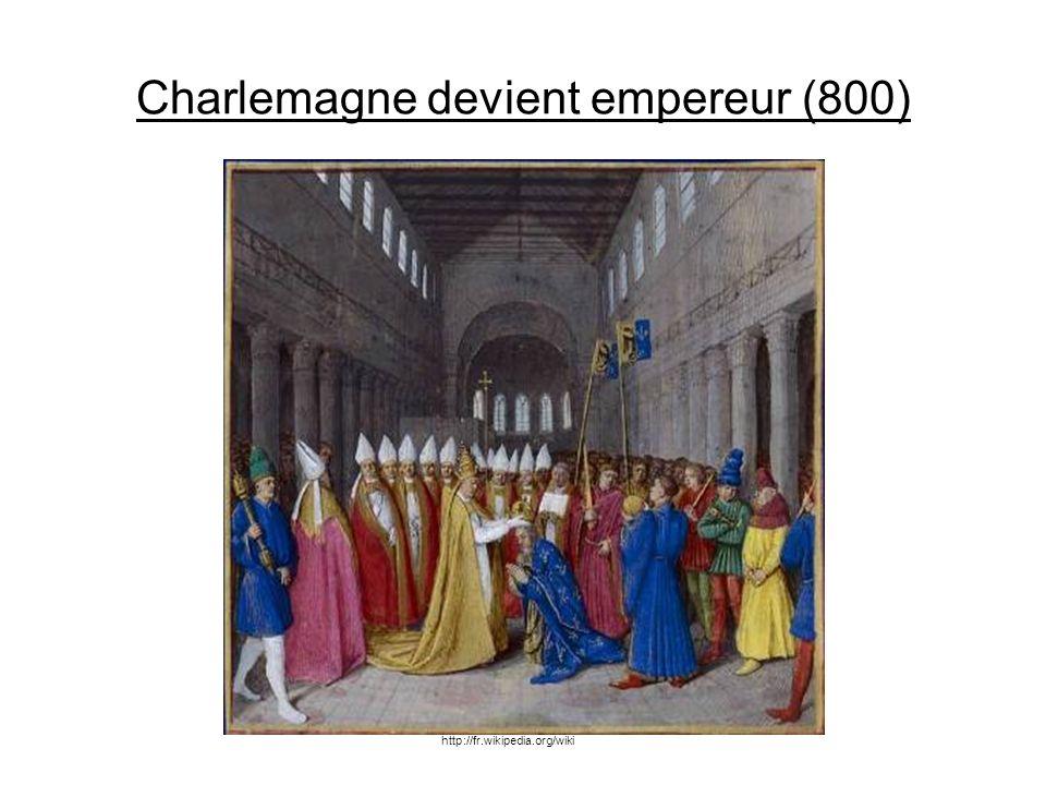 Charlemagne devient empereur (800)
