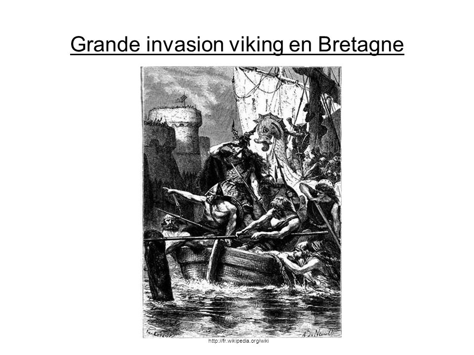 Grande invasion viking en Bretagne