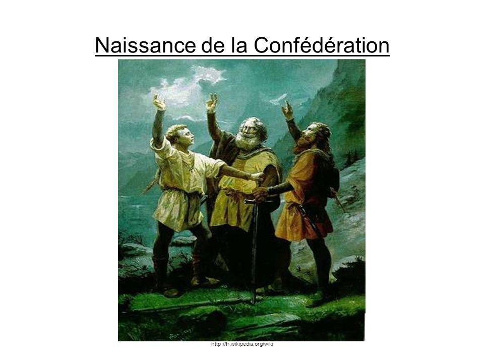Naissance de la Confédération