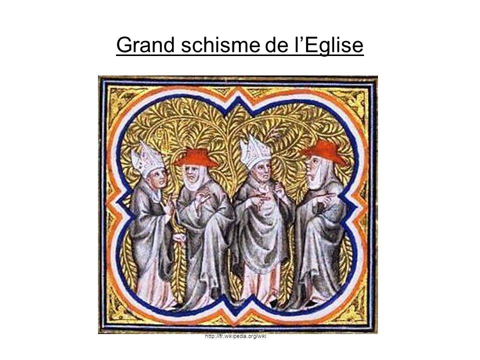 Grand schisme de l'Eglise