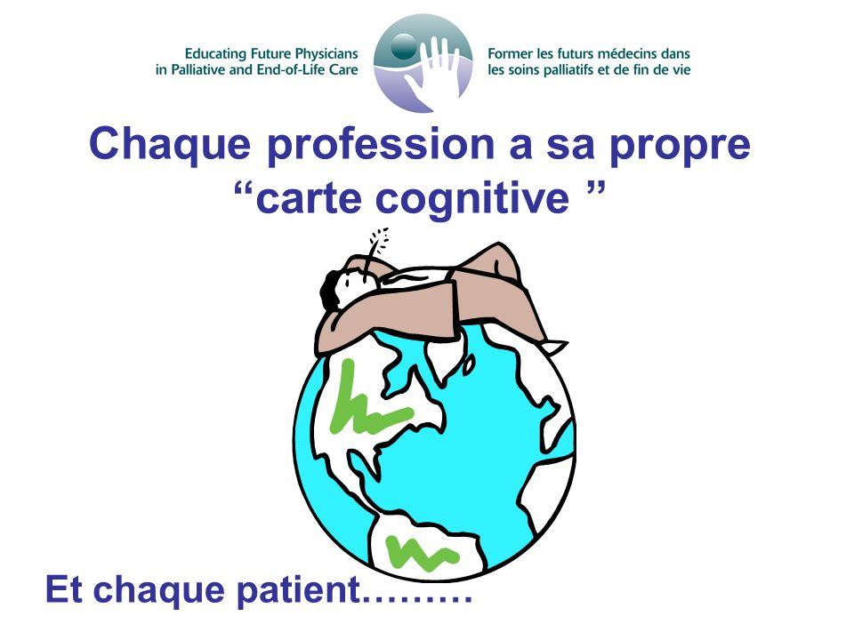 Chaque profession a sa propre carte cognitive
