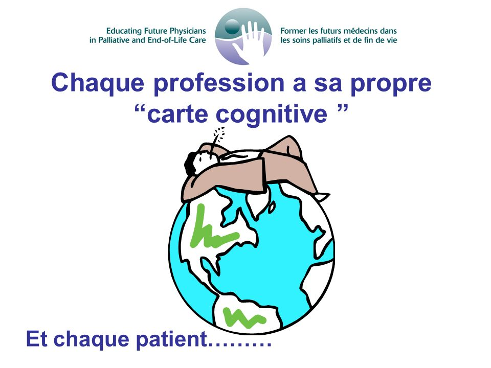 Chaque profession a sa propre carte cognitive