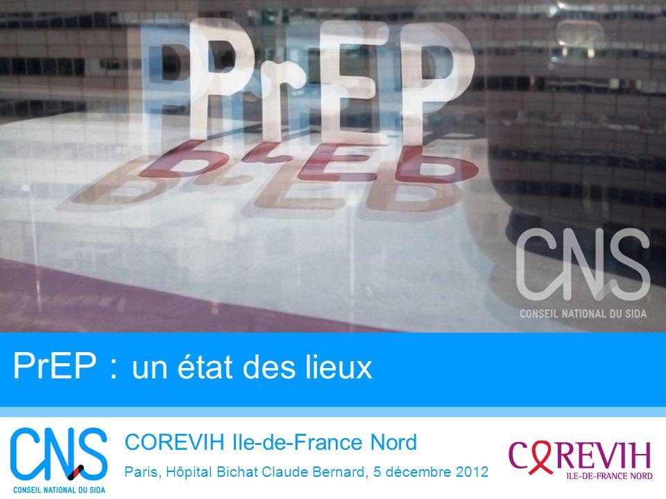 PrEP : un état des lieux COREVIH Ile-de-France Nord