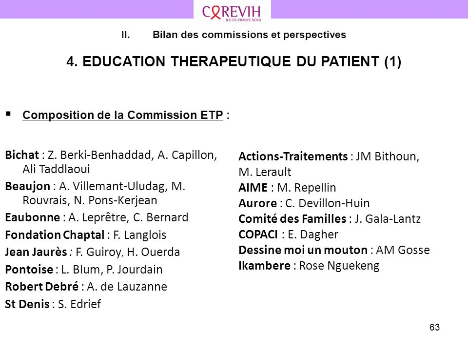 4. EDUCATION THERAPEUTIQUE DU PATIENT (1)